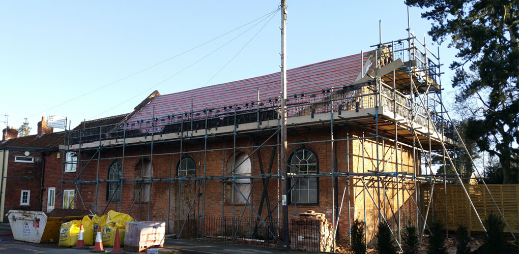 restoration scaffolding lincoln